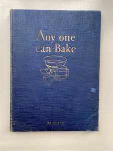 Any one can Bake, 1929