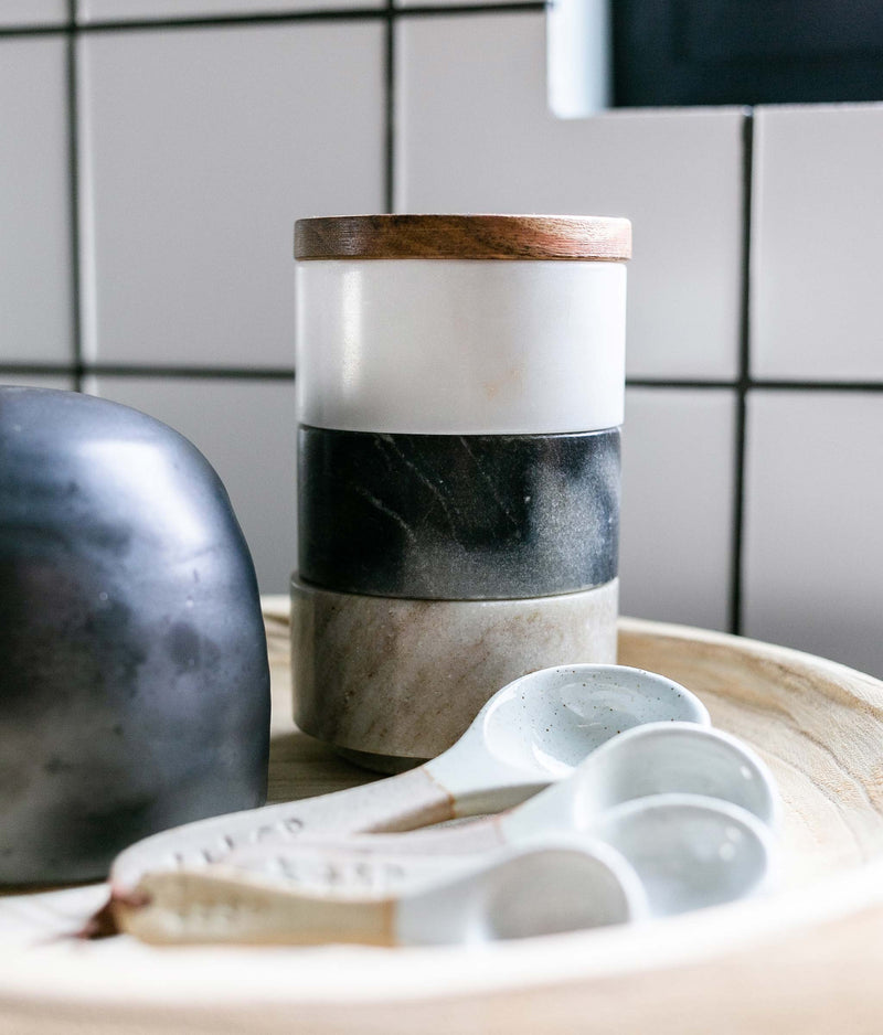 Marble Stacking Pinch Pots