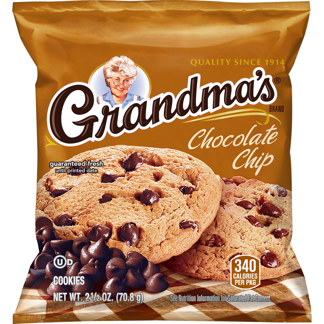 Chocolate Chip Cookie - 60/2.5 OZ Bags