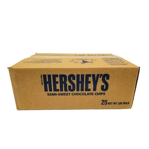 Chocolate Chip, Semi Sweet, 1K Count- 25 LB