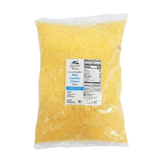 Mild Cheddar Cheese, Shredded - 5 LB
