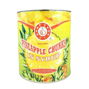 Pineapple Chunks, In Heavy Syrup - #10 Can