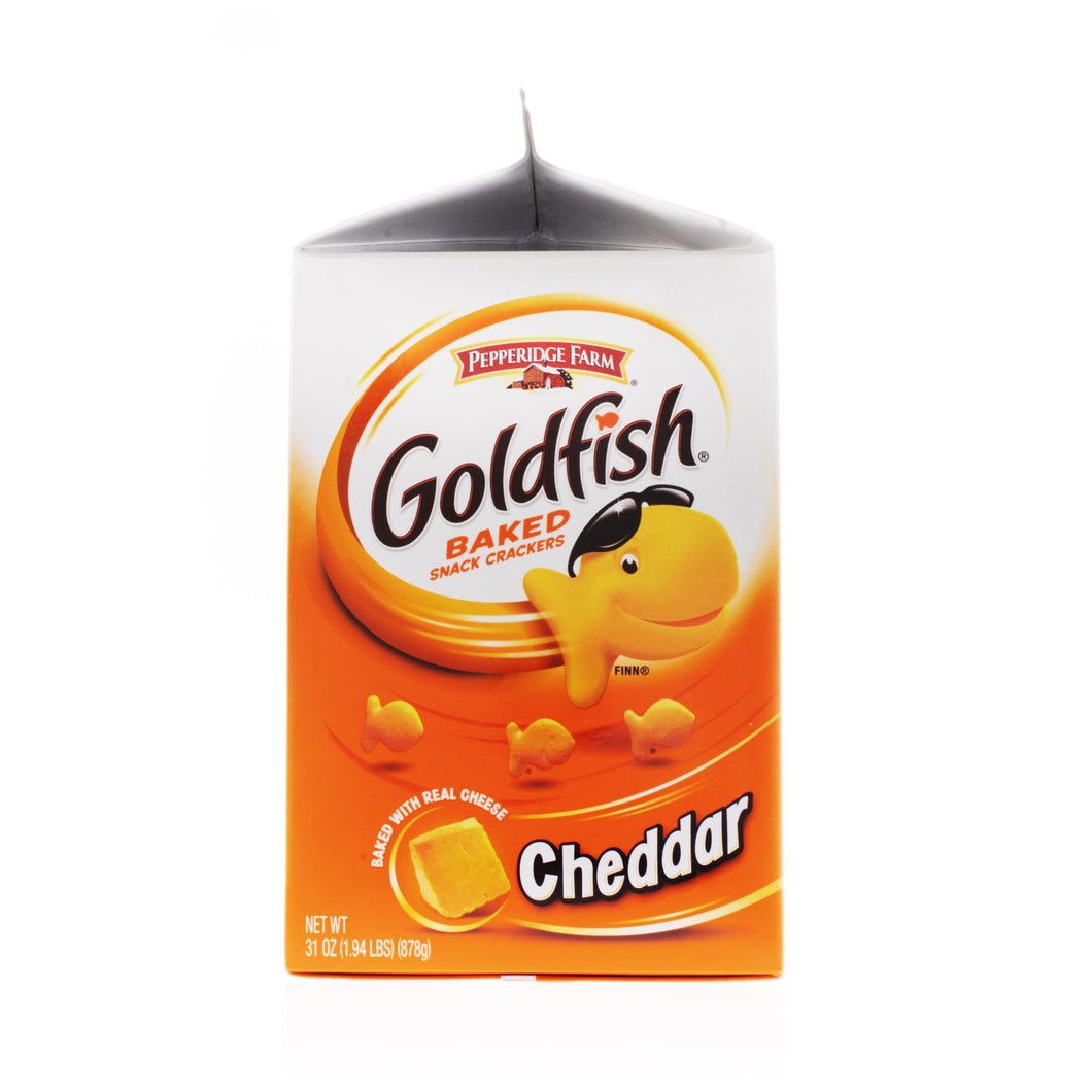 Goldfish Crackers, Cheddar - 31 OZ