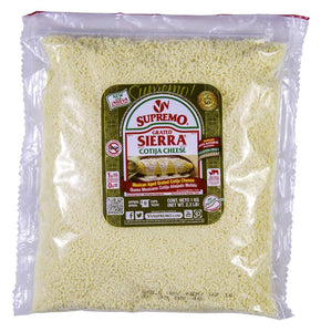 Cotija Cheese, Grated - 2.2 LB