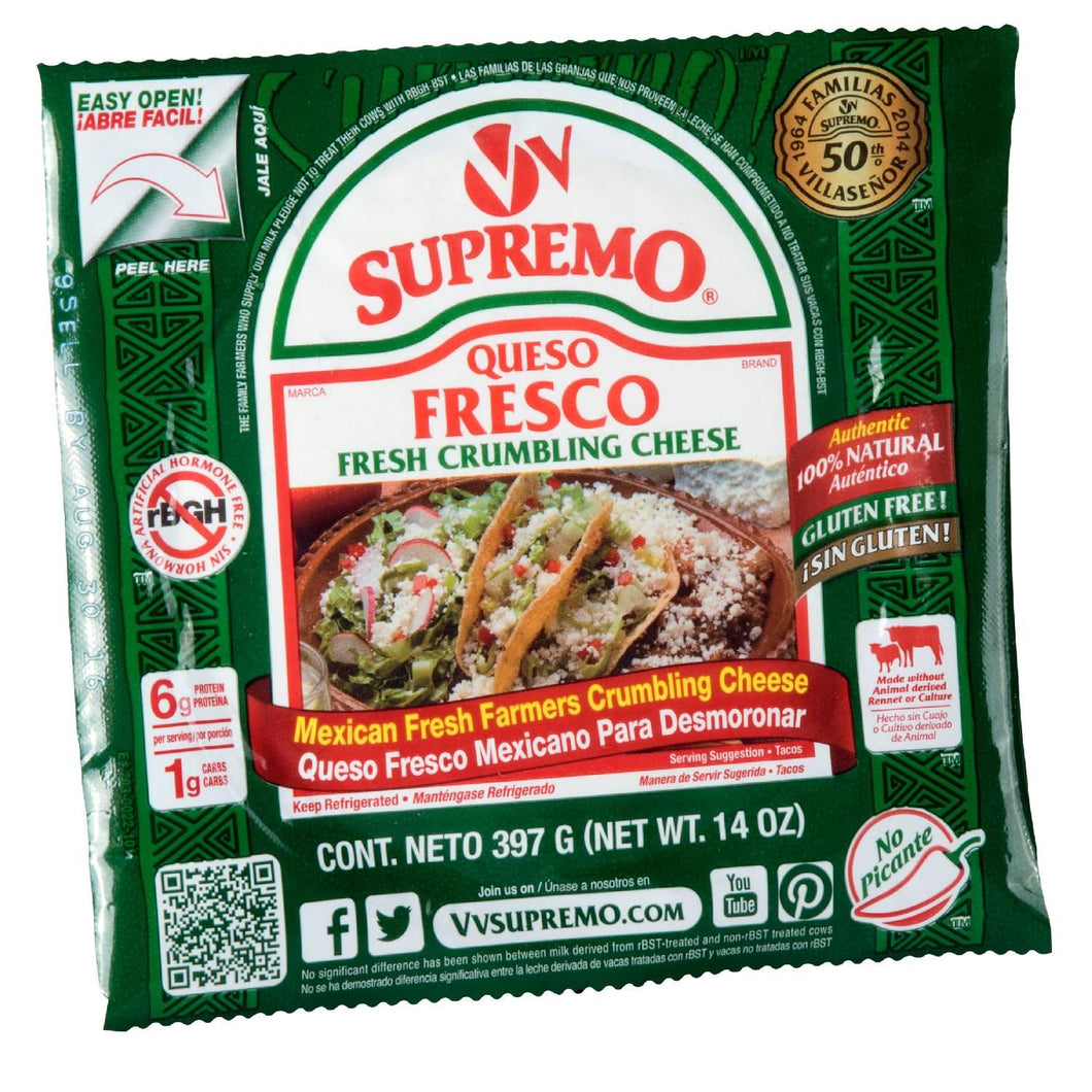 Queso Fresco, Baby Wheel - 14 OZ