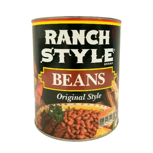 Pinto Baked Beans, Ranch-Style, Canned - #10 Can