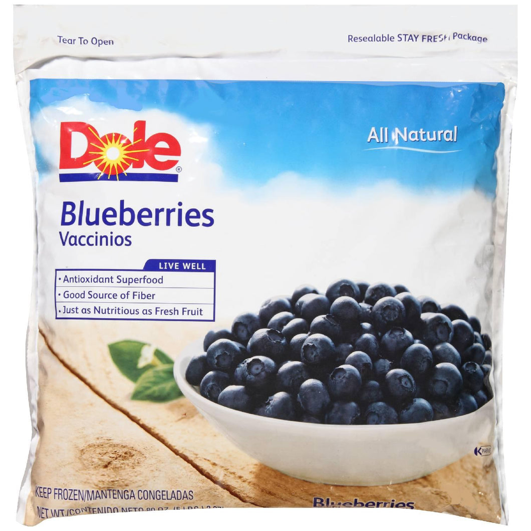 Blueberries, Frozen - 5 LB