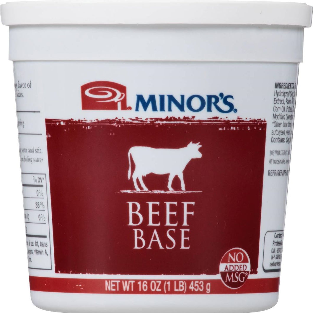 Beef Base, No MSG, Refrigerated - 1 LB