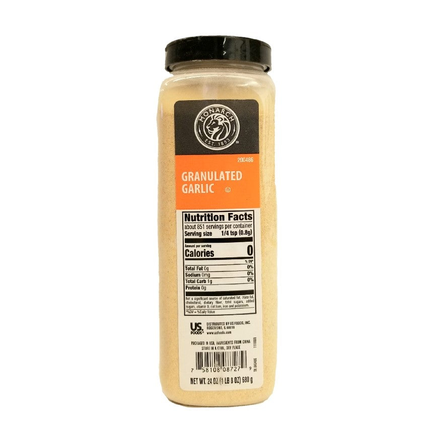 Granulated Garlic - 24 OZ