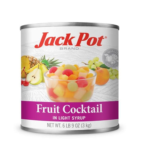 Fruit Cocktail in Light Syrup, Diced - #10 Can