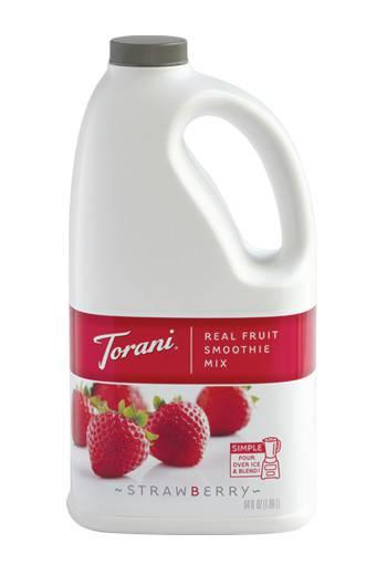 Strawberry Smoothie Base, Non-Dairy - 64 OZ