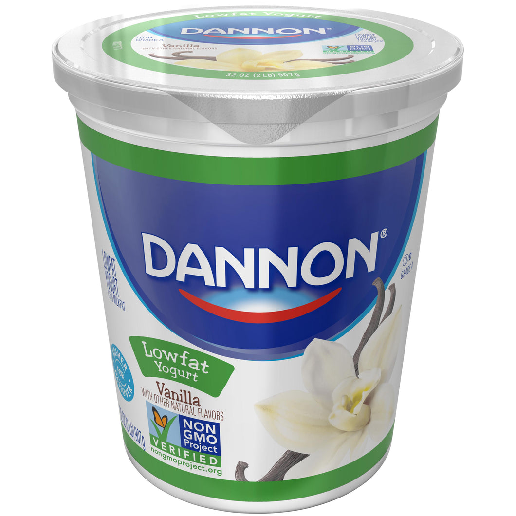 Yogurt, Vanilla, All Natural - 32 OZ