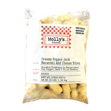 Load image into Gallery viewer, Pepper Jack Mac & Cheese Bites - 3 LB