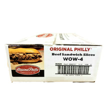Load image into Gallery viewer, Beef Philly Cheesesteak, Sliced, Raw & Frozen - 40/4 OZ Portions