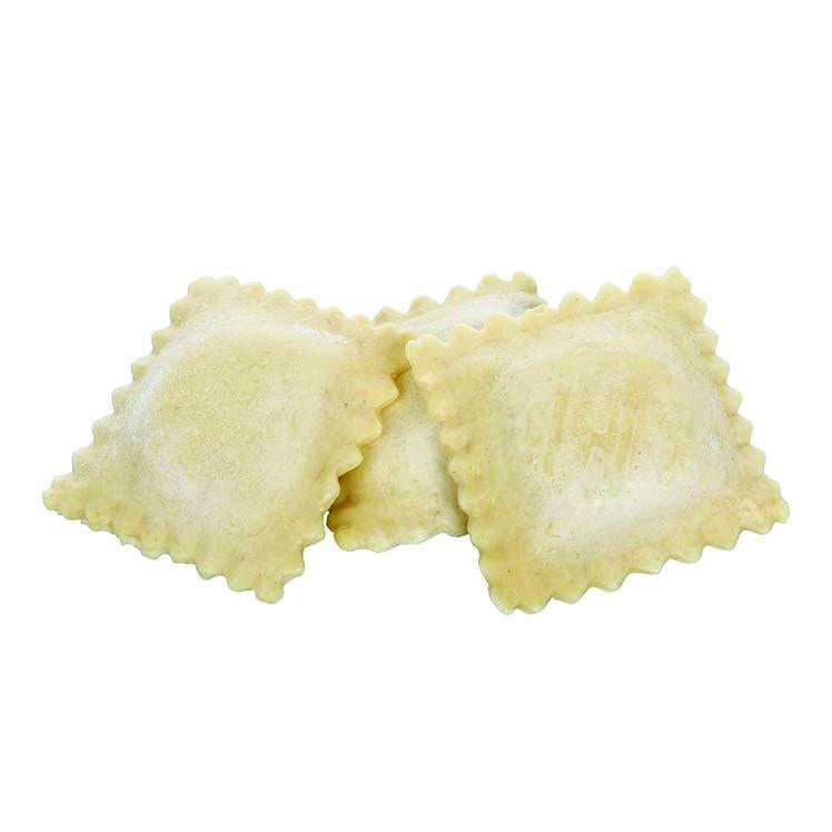 Jumbo Cheese Ravioli, Cooked, Frozen - 2/5 LB (10 LB Total)