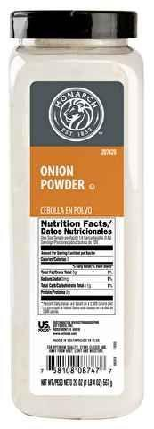 Onion Powder, Shaker - 20 OZ