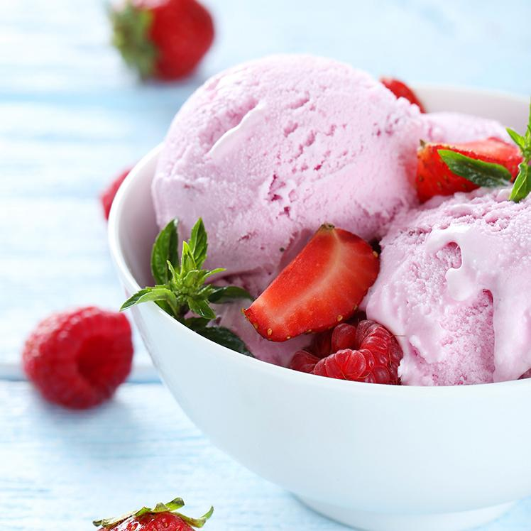 Strawberry Ice Cream Tub - 3 Gallon