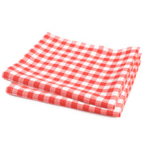 Load image into Gallery viewer, Basket Liners, Red Checkered, 12X12 - 1000 EA