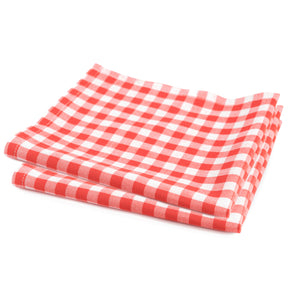 Basket Liners, Red Checkered, 12X12 - 1000 EA