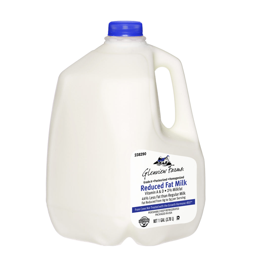 2% Reduced Fat Milk - 1 Gallon