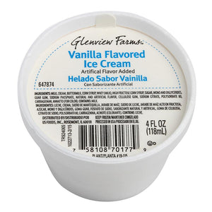 Vanilla Ice Cream Foam Cup - 48/4 OZ