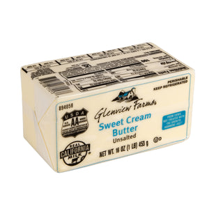 Unsalted Butter, Solid - 1 LB