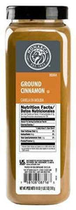 Cinnamon, Ground, Shaker - 18 OZ