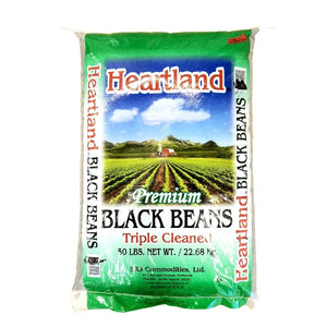 Dried Black Beans - 50 LB