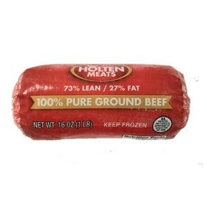 Ground Beef, 73/27, Medium - 1 LB