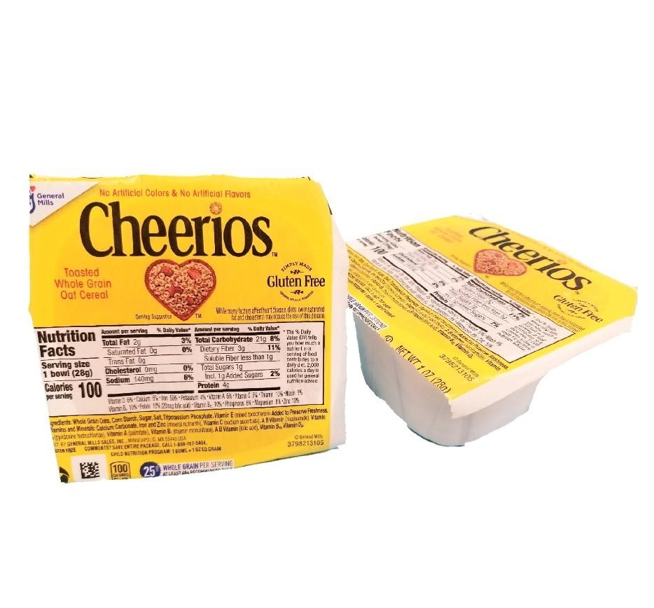Cheerios, Bowl Pack - 96/1 OZ Boxes