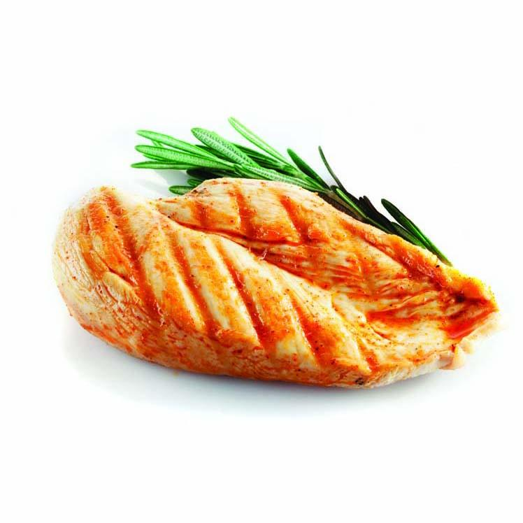 Chicken Breast, Boneless-Skinless, 4 OZ Portions - (12 LB Total)