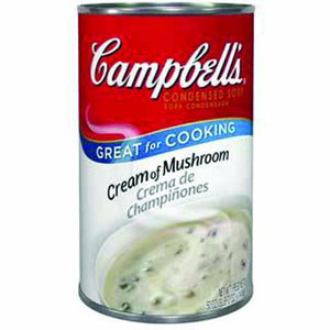 Cream of Mushroom Soup, Canned - 50 OZ