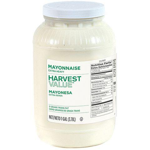 Mayonnaise, Extra Heavy, Plastic Jug - 1 Gallon