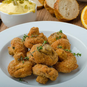 Mushrooms, Battered, Whole - 2 LB