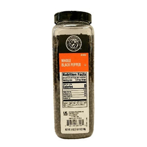 Black Pepper, Whole, Shaker - 18 OZ