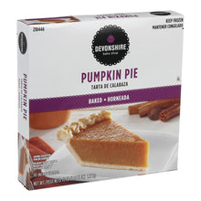 "Load image into Gallery viewer, Pumpkin Pie, Baked Unsliced, 10"", Frozen - 43 OZ"