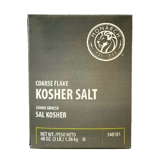 Kosher Salt, Coarse Ground - 3 LB