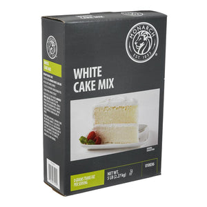 Cake Mix, White - 5 LB BOX
