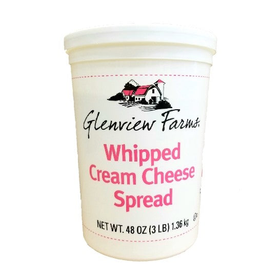 Cream Cheese, Plain, Whipped, Tub - 3 LB