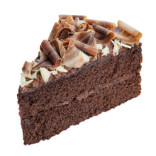 Load image into Gallery viewer, Iced Chocolate Cake, 2-Layer, Sliced - 90 OZ