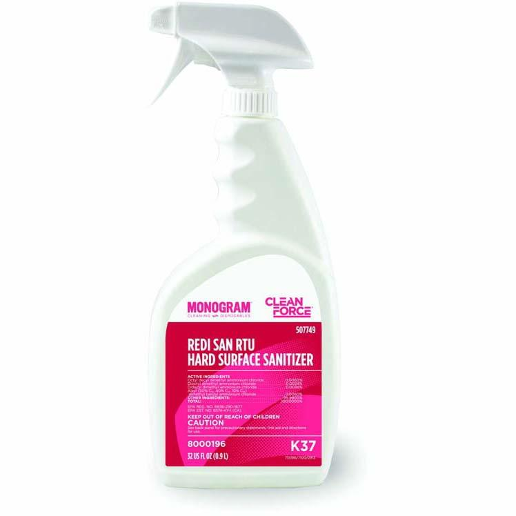 Surface Sanitizer, K37 Liquid Bottle, 32 OZ - EACH