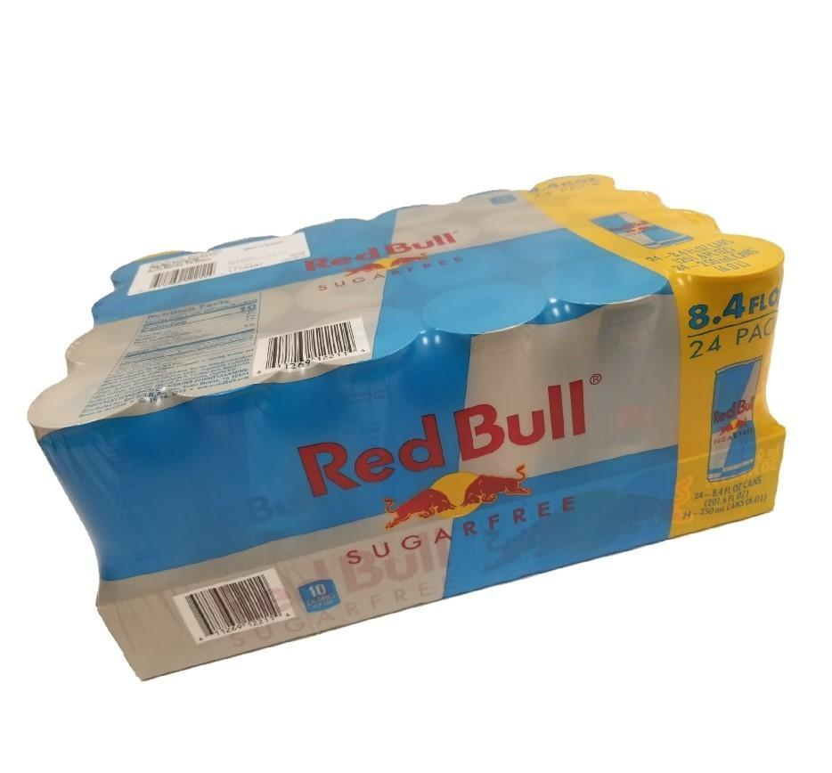 Red Bull Energy Drink, Sugar-Free - 24/8.4 OZ Cans