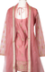 Pink Zari Sharara with Long Sleeves