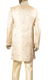 Gold Brocade Sherwani with Pearl Embroidery