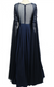 Midnight Blue Beaded Gown