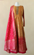 Brocade Anarkali with Banarsi Dupatta