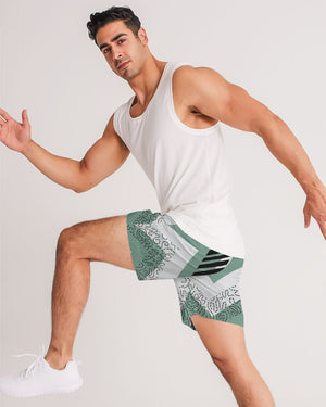 Tiffany Green Favor Men's Jogger Shorts