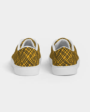 Yellow Love Women's Faux-Leather Sneaker