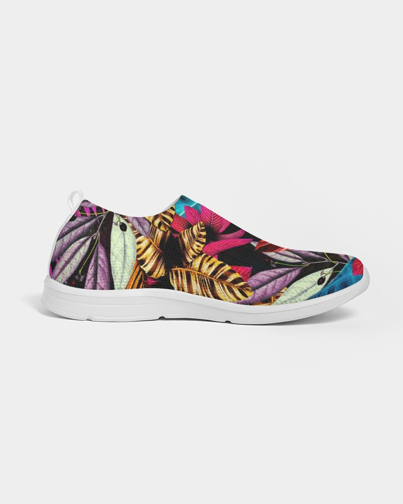 Foliage Feather Women's Slip-On Flyknit Shoe