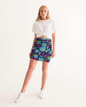 Trendy Women's Mini Skirt